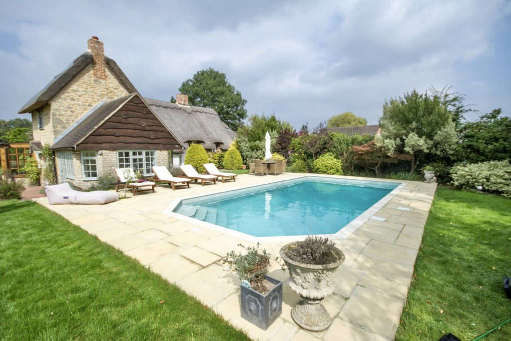 Oxford Outdoor Pool Installation