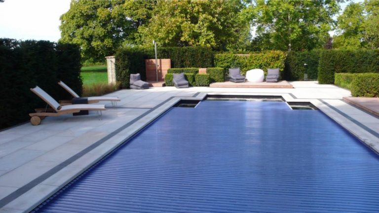 automatic slatted pool covers by clearwater pools in oxford